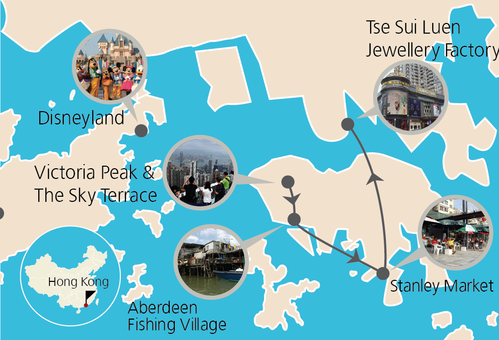 5 Days Hong Kong and Disneyland Tour