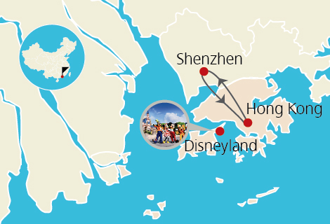 Hong Kong & Shenzhen 5 Days Family Tour