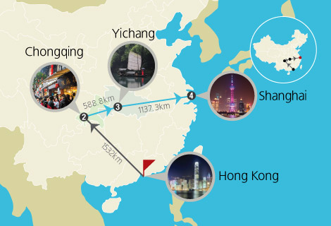 Hong Kong and Yangtze River Cruise 8 Days Tour