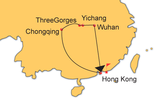 Wuhan Yichang and Chongqing Three Gorges Amazing 7 Days Tour