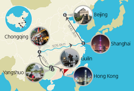 Golden Journey with Yangtze Cruise 14 Days Tour