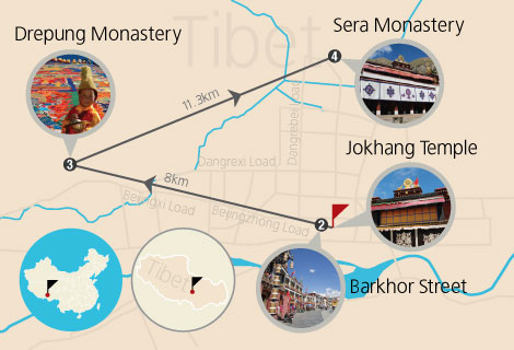 4-Day Lhasa Potala Palace Classic Tour (Mini Group)