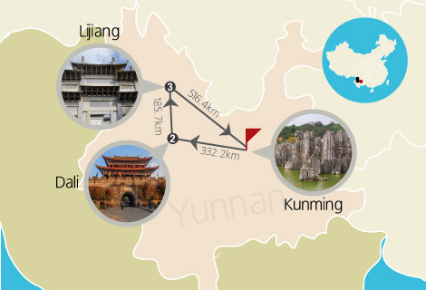 6 Days Colorful Yunnan Bullet Train Tour