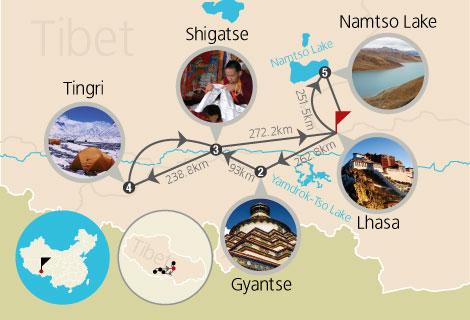 10-Day EBC and Lake Namtso Tour (Mini Group)