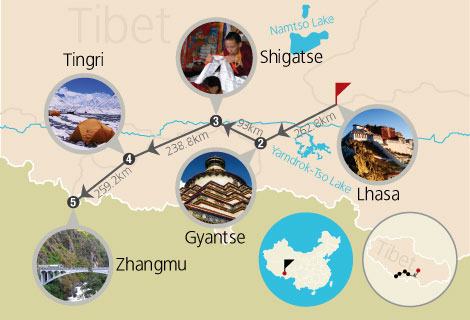 7-Day Lhasa to EBC and Kathmandu (Mini Group)