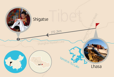 6-Day of Lhasa, Gyantse and Shigatse Mini Group Tour