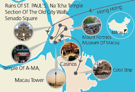 Macau Essence One Day Private Tour