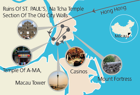 Macau Tour with pickup from Hong Kong