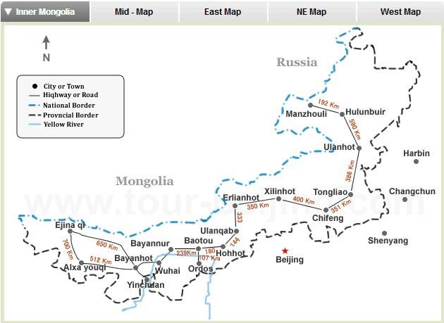 Beijing and Inner Mongolia 6 Days Tour