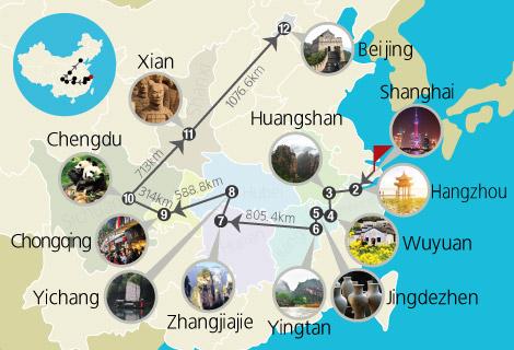 Beautiful China Countryside 24 Days Tour