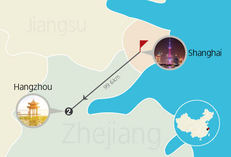 6 Day Shanghai and Hangzhou Tour with Bullet Train