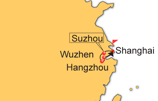 6 Day Shanghai, Suzhou, Wuzhen and Hangzhou Tour