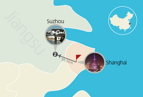 Best of Shanghai with Suzhou Ancient Water Village 4 Days Tour