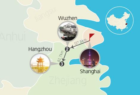 Shanghai Hangzhou Wuzhen 5 Days Tour