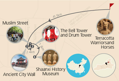 Xian Classic Terracotta Warriors and Horses and Ancient City Wall  3 Days tours