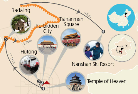 Essence of Beijing and Nanshan Ski 5 Days Tour