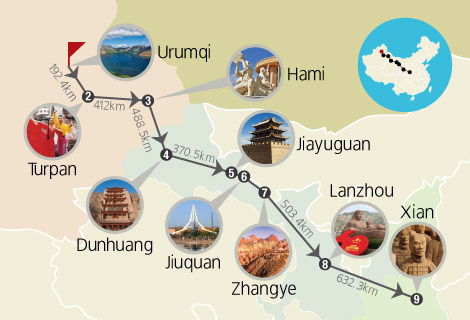 Silk Road 10 Days Bullet Train Tour