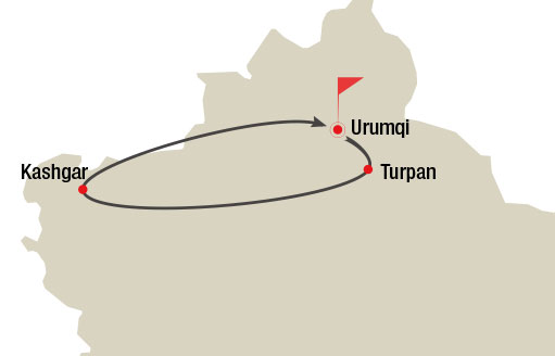 Urumqi Turpan and Kashgar 8 Days Tour