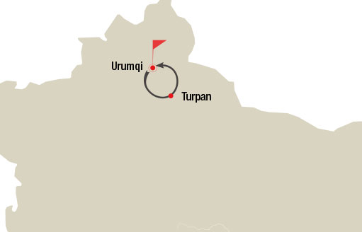 Urumqi and Turpan 6 Days Tour