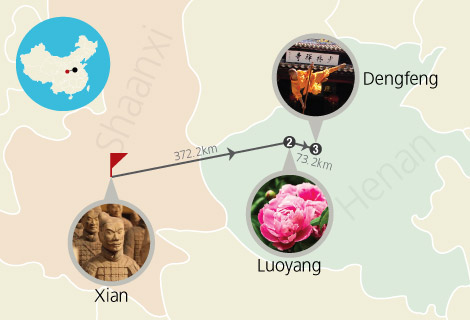 Xian and Luoyang 4 Days Culture Tour