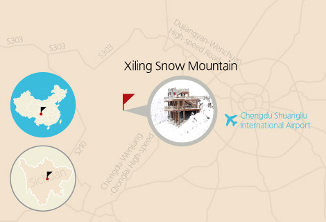 Chengdu Xiling Snow Mountain One Day Tour