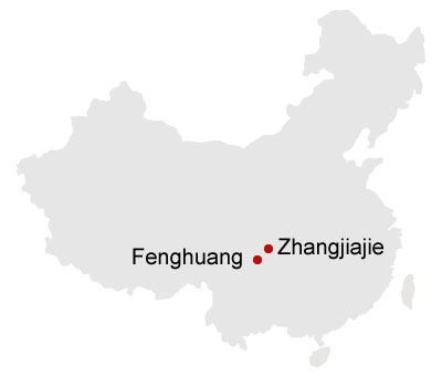 Zhangjiajie Changde and Changsha 7 Days Tour