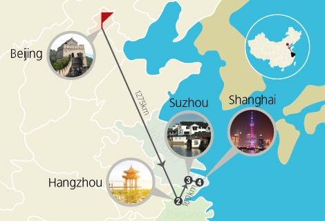 China Spring 9 Days Tour