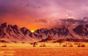 Flaming Mountains 01