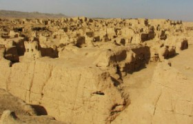 Ruins of the Ancient City of Jiaohe