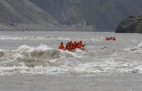Jinsha River rafting