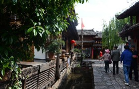 Lijiang Shuhe Street Struck with Fire Outbreak