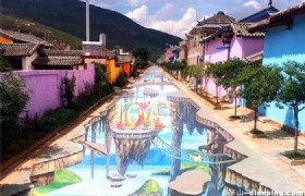 Lijiang Nine Colour Rose Town 3