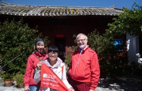 Our Swedish guests in Lijiang