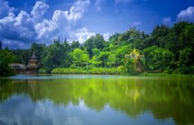 Ganlanba (Xishuangbanna Dai Minority Park)