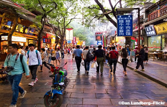 What to See, Hear and Taste at Xian Muslim Quarter