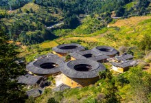 One Night at Tianluokeng Tulou Cluster