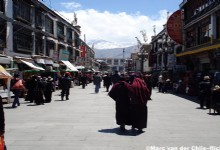 Great Time at Barkhor Street in Lhasa