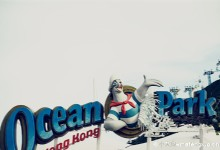 Christmas at Hong Kong's Ocean Park