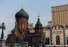 Experience Christmas in Harbin at St. Sophia Church & Central Street