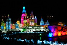 Appreciate Ice Art at Harbin Ice Festival
