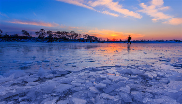Marvelous Rime Island in Jilin
