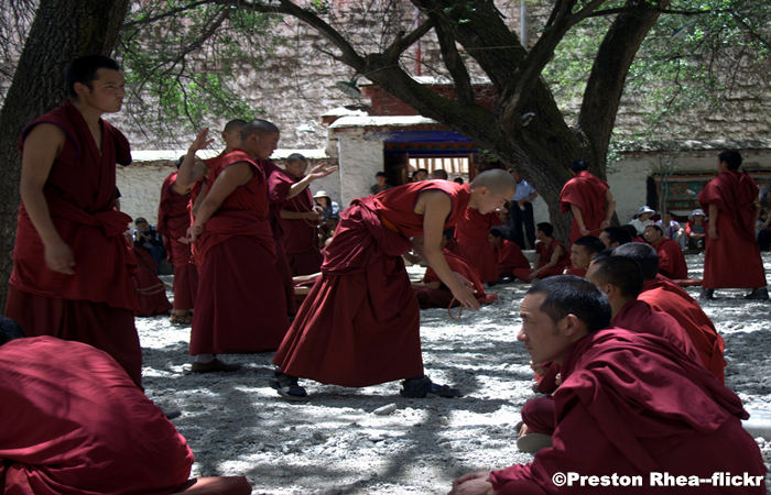 Sera Monastery of Lhasa - Center of Buddhism in Tibet