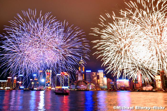 Celebrating Chinese New Year in Hong Kong