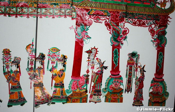 Beijing Dragon in the Sky Shadow Puppet Playhouse