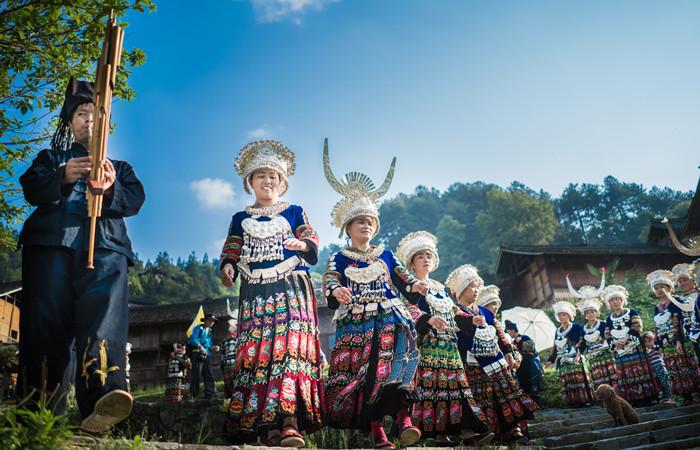 Lusheng Festival of the Miao Ethnic Minority