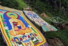 Sacred Sunbathing Buddha Festival