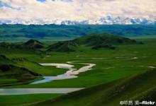 Bayanbulak Grassland of Xinjiang n