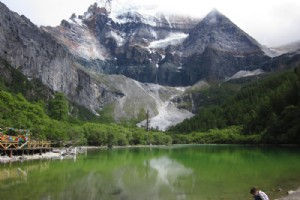 Yading Scenic Spot in Sichuan Province