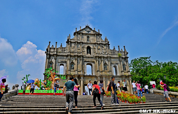 Visiting Ruins of St.Paul's in Macau