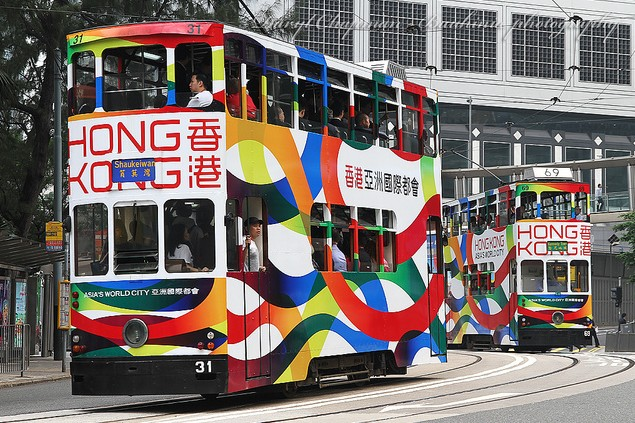 Navigating Hong Kong